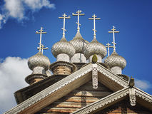 Chiesa dell'intercessione del vergine Fotografia Stock
