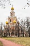 Chiesa dell'intercessione a Fili, Mosca Immagine Stock