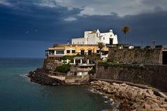 Chiesa dell'isola Italia degli ischi di Soccorso (Forio) Immagine Stock Libera da Diritti