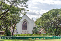 Chiesa dell'università di Silliman all'università di Silliman fotografie stock libere da diritti