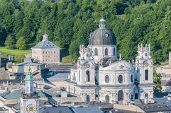 Chiesa dell'università (Kollegienkirche) a Salisburgo, Austria Fotografia Stock