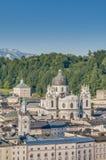 Chiesa dell'università a Salisburgo, Austria Fotografie Stock Libere da Diritti