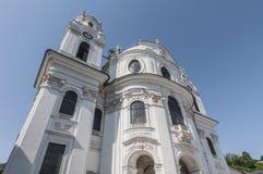 Chiesa dell'università a Salisburgo, Austria Immagini Stock