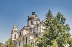 Chiesa dell'università a Salisburgo, Austria Fotografie Stock