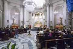 Chiesa della Badia di Sant`Agata Royalty Free Stock Photo