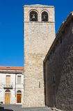 Chiesa della basilica della st Basilio. Troia. La Puglia. L'Italia. Immagine Stock