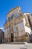 Chiesa della basilica della st Giovanni Battista. Lecce. La Puglia. L'Italia. Fotografie Stock