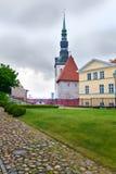 Chiesa della cattedrale- della cupola più vecchia di Tallinn. Immagini Stock Libere da Diritti