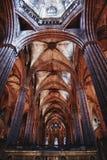Chiesa della cattedrale di Barcellona Fotografia Stock