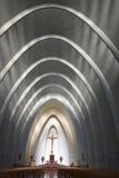 Chiesa della cattedrale di Chillan, Cile Fotografia Stock Libera da Diritti