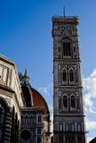 Chiesa della cattedrale di Firenze immagini stock