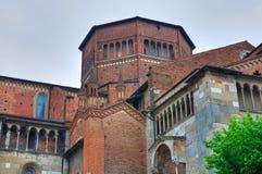 Chiesa della cattedrale di Piacenza L'Emilia Romagna L'Italia Fotografia Stock Libera da Diritti