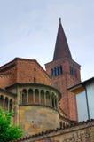 Chiesa della cattedrale di Piacenza L'Emilia Romagna L'Italia Fotografie Stock Libere da Diritti