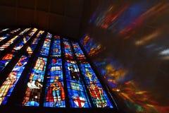 Chiesa della cattedrale di St Andrew, Honolulu Fotografie Stock