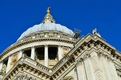 Chiesa della cattedrale di St Paul, Londra, Regno Unito Fotografia Stock