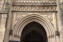 Chiesa della cattedrale a Manchester, Inghilterra immagine stock