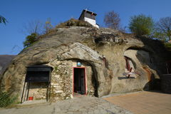 Chiesa della caverna Immagine Stock