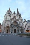 Chiesa della chiesa del san-Nizier a Lione Immagini Stock Libere da Diritti