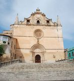 Chiesa della città Immagine Stock