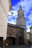 Chiesa della città Fotografie Stock