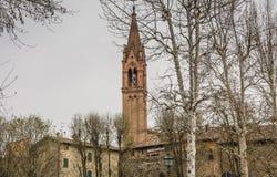 Chiesa della città di Modena dei Di di Castelvetro, Modena, Italia immagine stock