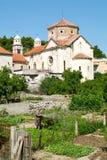 Chiesa della città Skradin Immagine Stock Libera da Diritti