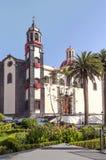 Chiesa della concezione di Orotava Fotografie Stock