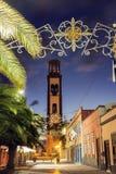 Chiesa della concezione in Santa Cruz de Tenerife Fotografia Stock Libera da Diritti
