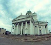 Chiesa della cupola di Helsinki Fotografie Stock Libere da Diritti