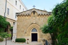 Chiesa della flagellazione, Gerusalemme Fotografia Stock