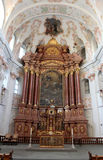 Chiesa della gesuita in Lucerna Immagini Stock Libere da Diritti