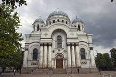 Chiesa della guarnigione Immagini Stock