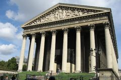 Chiesa della Madeleine della La - Parigi Fotografie Stock Libere da Diritti
