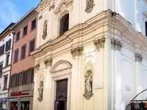 Chiesa della madonny dello Spasimo w Bergamo fotografia royalty free