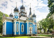 Chiesa della madre di Dio tutto il afflitto Druskininkai Immagini Stock