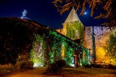 Chiesa della madre santa di Dio Ruzica alla notte, Belgrado Immagine Stock Libera da Diritti
