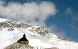 Chiesa della montagna Fotografia Stock