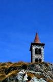 Chiesa della montagna Fotografie Stock