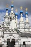 Chiesa della natività del Theotokos a Putinki fotografia stock libera da diritti
