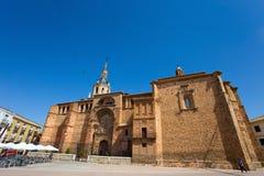 Chiesa della nostra signora del presupposto, Manzanarre, Spagna immagini stock libere da diritti