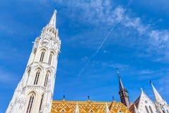 Chiesa della nostra signora di Buda Fotografia Stock Libera da Diritti