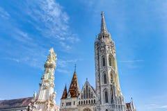 Chiesa della nostra signora di Buda Immagini Stock Libere da Diritti