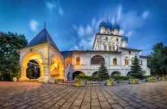 Chiesa della nostra signora di Kazan in Kolomenskoe, Mosca Fotografia Stock