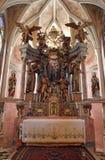 Chiesa della nostra signora di Taborsko, Croazia Fotografie Stock Libere da Diritti