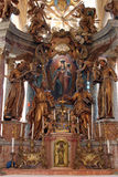 Chiesa della nostra signora di Taborsko, Croazia Fotografia Stock