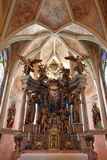 Chiesa della nostra signora di Taborsko, Croazia Immagini Stock Libere da Diritti