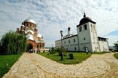 Chiesa della nostra signora, Sviyazhsk, Russia Immagini Stock