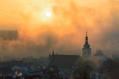 Chiesa della nostra signora Victorious, Praga, repubblica Ceca Immagini Stock Libere da Diritti