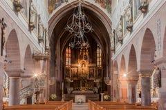 Chiesa della nostra signora Villingen-Schwenningen Fotografia Stock Libera da Diritti