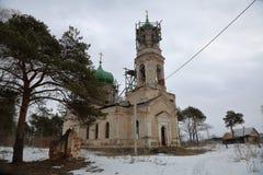 Chiesa della pietra di Novo-ascensione, Toržok, Russia fotografie stock